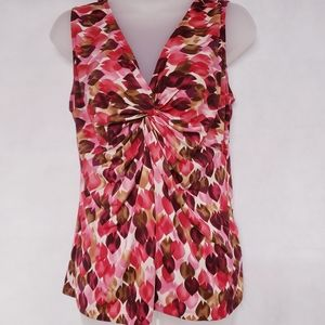 4/$30 LILY Alley Spot Sleeveless Tank Top Blouse